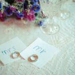 テイク・フォー 結婚式 指輪